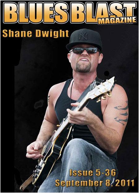 Shane Dwight Blues Blast September Cover