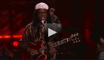 Joe Louis Walker Video from Conan