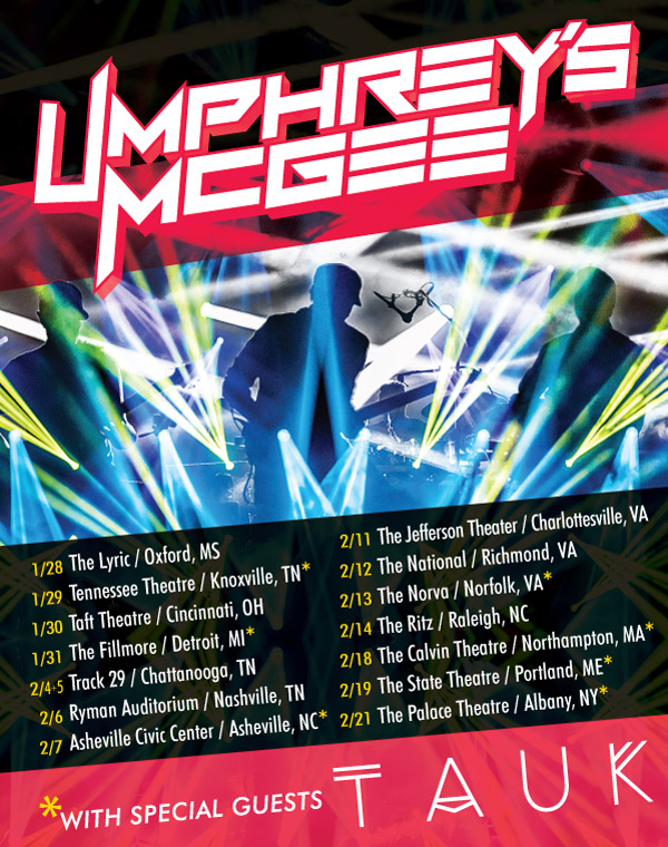 Umphreys TAUK Poster